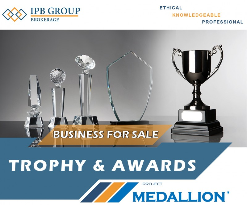 Trophy & Awards Business For Sale