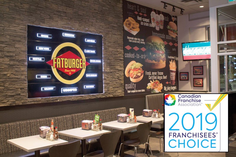 Fatburger Restaurant With Buffalo's Wings Express For Sale