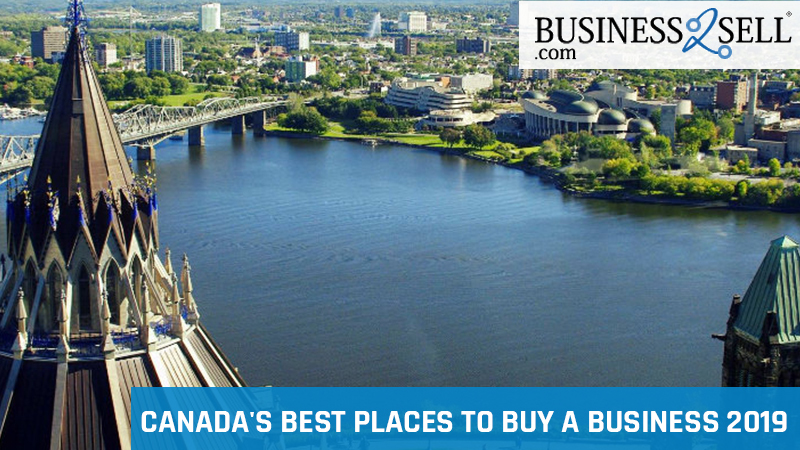 Canada's Best Places to Buy a Business 2019